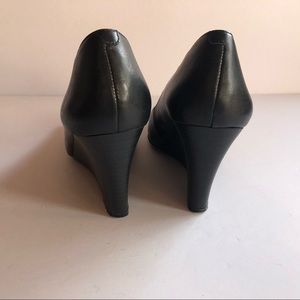 Jessica Simpson Shoes - Jessica Simpson Black Salley square toe wedges